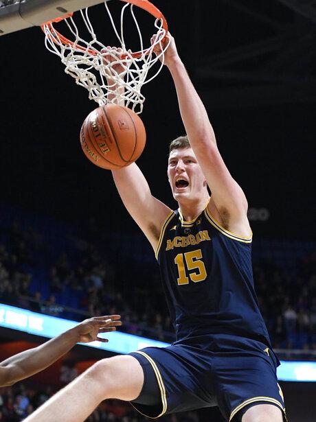 APTOPIX Providence Michigan Basketball