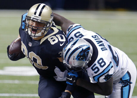 Jimmy Graham, Thomas Davis