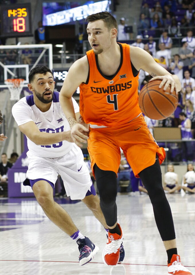 Oklahoma State Cowboys at TCU Horned Frogs 2/6/2019