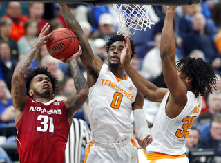 SEC Arkansas Tennessee Basketball
