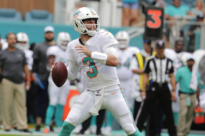 Franchise QB? Rosen will remain Dolphins' starter