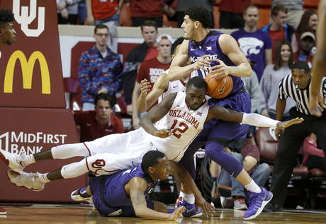 Kansas State Oklahoma Basketball