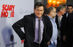 FILE - Charlie Sheen, a cast member in
