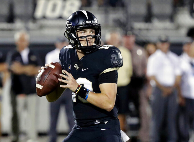 Coach KZ: While injured leg heals, Milton still leads UCF