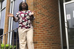 "In this May 27, 2020, photo, Jacquelyn Thomas, the administrator of Lowndes County, Ala., discusses its fight against the coronavirus during an interview in Hayneville, Ala. Experts say Lowndes County and nearby poor, mostly black counties in rural Alabama are now facing a ""perfect storm"" as infections tick up: a lack of access to medical care combined with poverty and the attendant health problems that can worsen the outcomes for those who become sick. (AP Photo/Jay Reeves)"