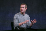 Facebook CEO Mark Zuckerberg speaks about