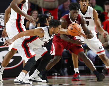 Arkansas Georgia Basketball