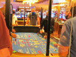This July 2, 2020 photo shows a game of craps underway at the Hard Rock casino in Atlantic City N.J. On May 3, 2021, Hard Rock officials told The Associated Press they will spend $20 million on renovations, the latest in a line of Atlantic City casinos to reinvest during the coronavirus pandemic. (AP Photo/Wayne Parry)
