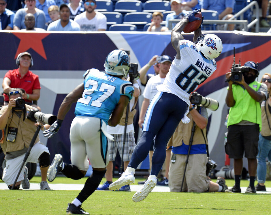 Delanie Walker, Mike Adams
