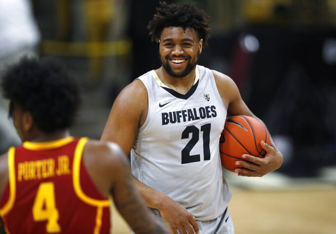 Colorado comeback gives Buffs 78-67 win over USC