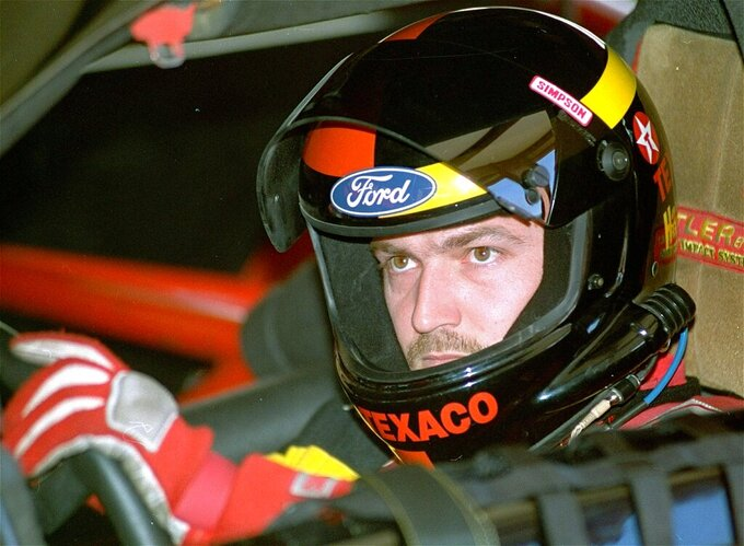 The Latest: Davey Allison joins dad in NASCAR Hall of Fame