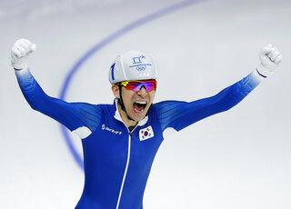 APTOPIX Pyeongchang Olympics Speed Skating Men