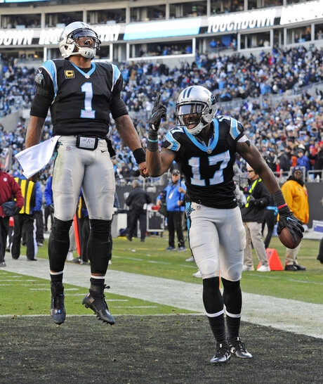 Cam Newton, Devin Funchess