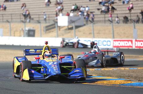 IndyCar-Sonoma Auto Racing