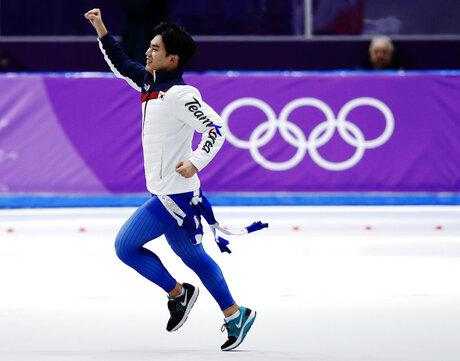 Pyeongchang Olympics Speed Skating Men