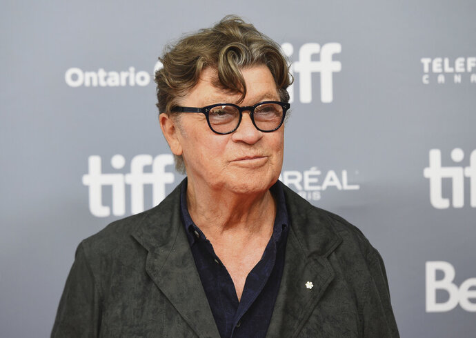 FILE - This Sept. 5, 2019 file photo shows Robbie Robertson at a press conference for