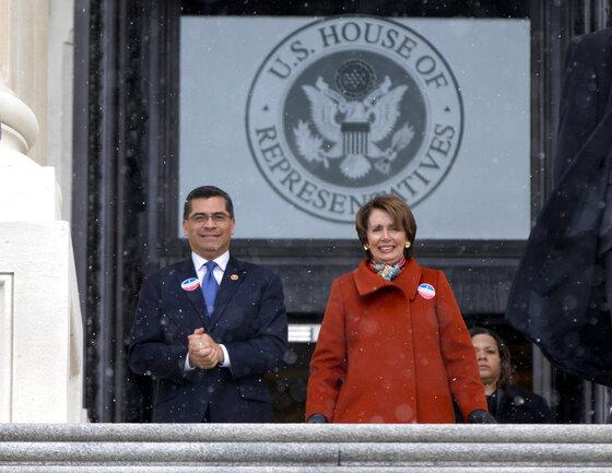 Xavier Becerra, Nancy Pelosi