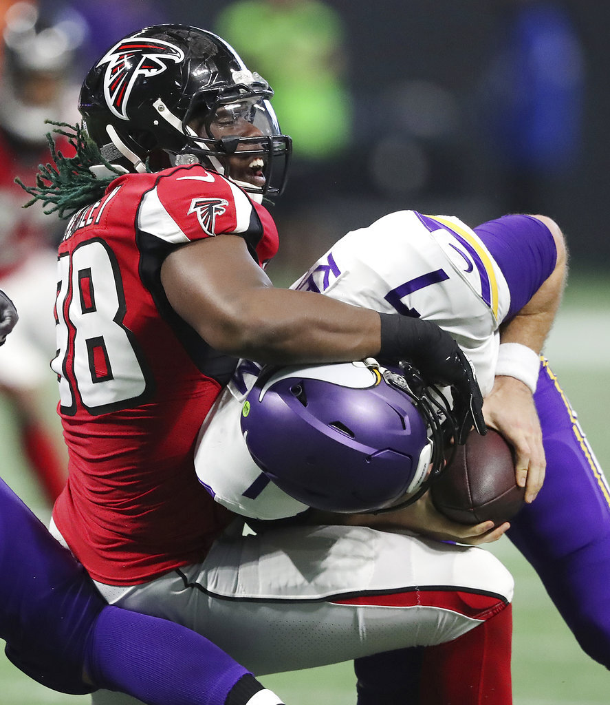 Vikings Falcons Football  Atlanta