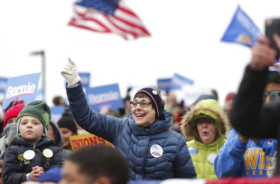 Election 2020-Bernie Sanders-Midwest