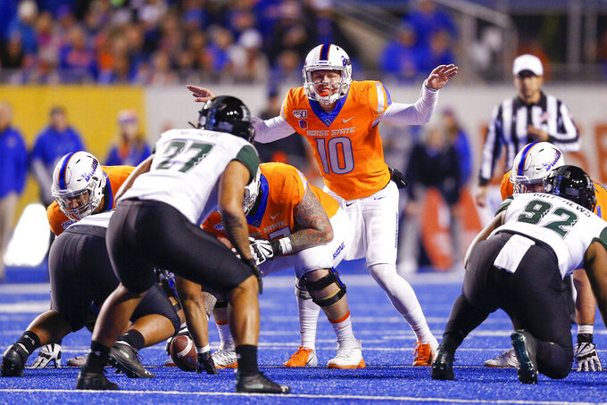 No. 14 Boise State heads out of conference to face BYU