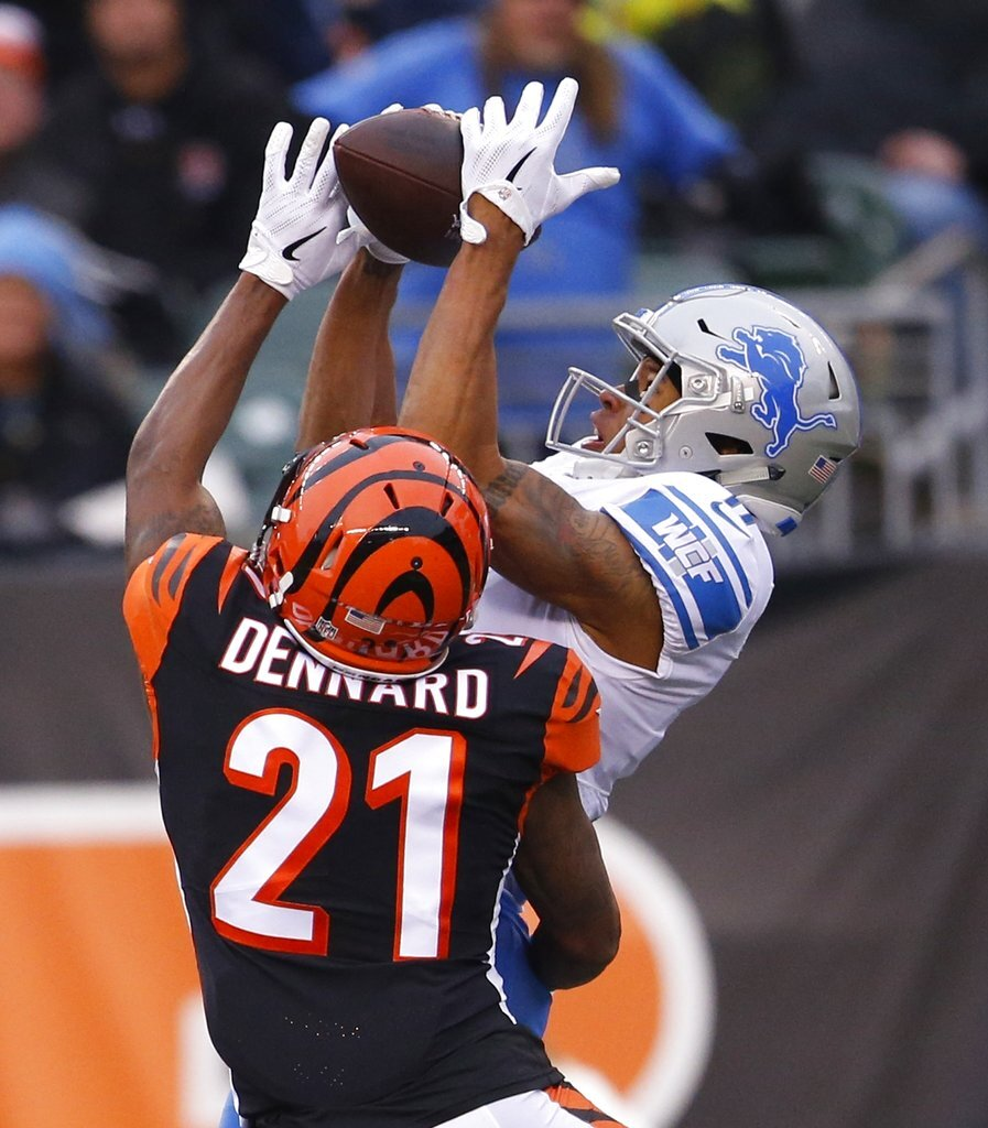 Marvin Jones, Darqueze Dennard