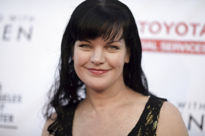 FILE - In this May 21, 2016 file photo, Pauley Perrette attends