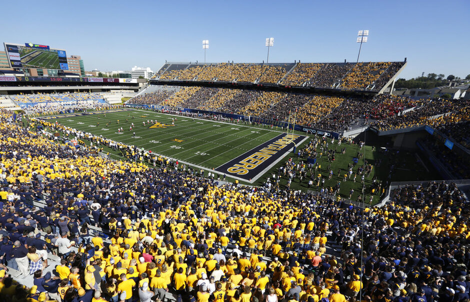 Texas Tech West Virginia Football