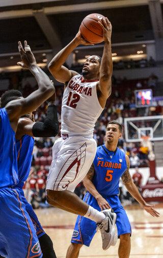 Florida Alabma Basketballl