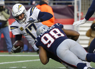 Trey Flowers, Philip Rivers