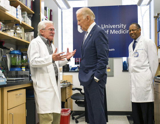 Joe Biden, Paul Modrich, A. Eugene Washington
