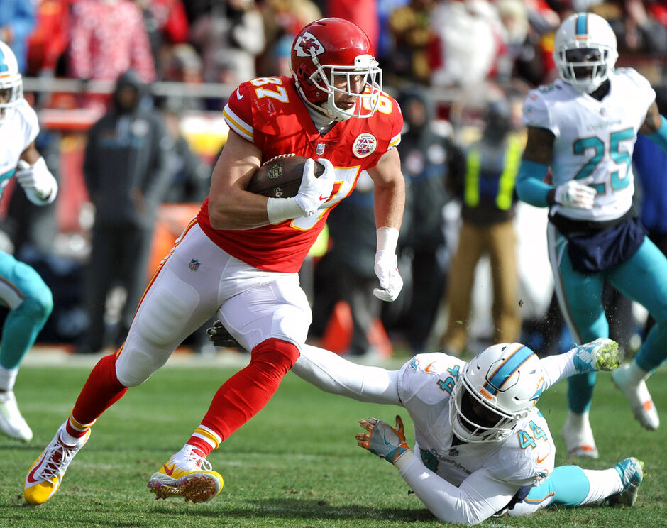 Travis Kelce, Stephone Anthony