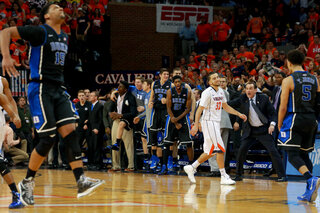 Duke Virginia Basketball