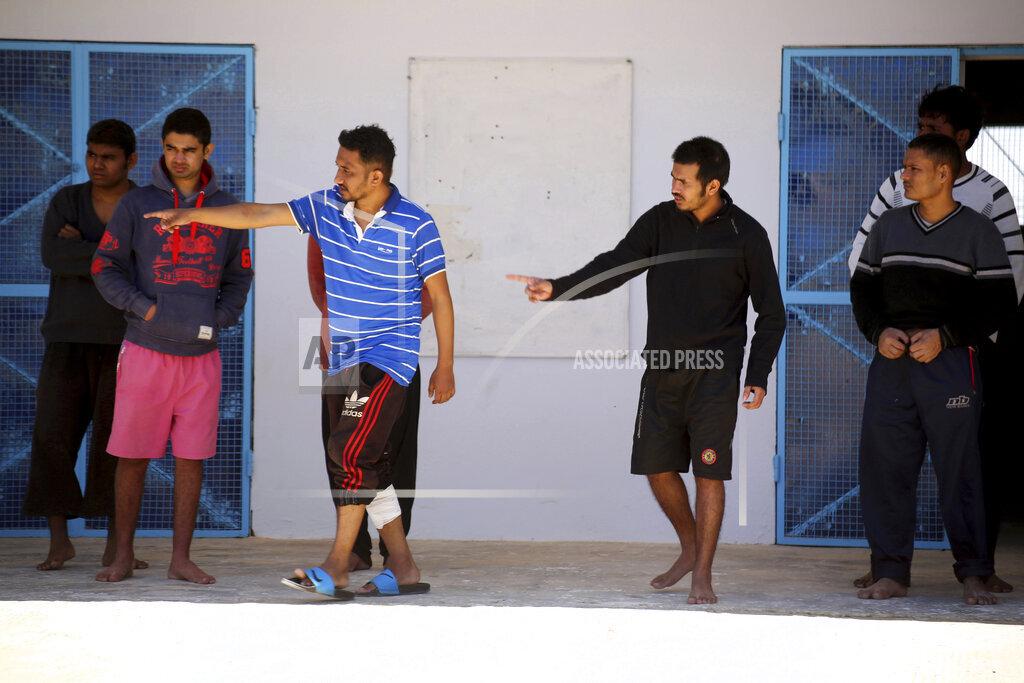 Tunisia Migrants