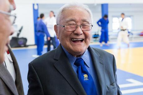 Old Coach Olympics Judo
