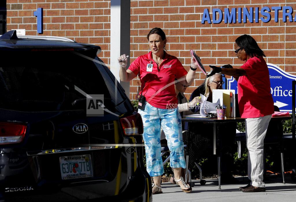Virus Outbreak Florida Education