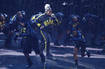 Video Vanguard recipient Missy Elliott performs a medley at the MTV Video Music Awards at the Prudential Center on Monday, Aug. 26, 2019, in Newark, N.J. (Photo by Matt Sayles/Invision/AP)
