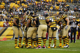 Steelers-Throwback Uniforms Football