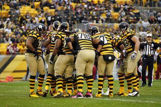Steelers-Throwback Uniforms Football
