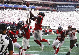 Buccaneers Falcons Football