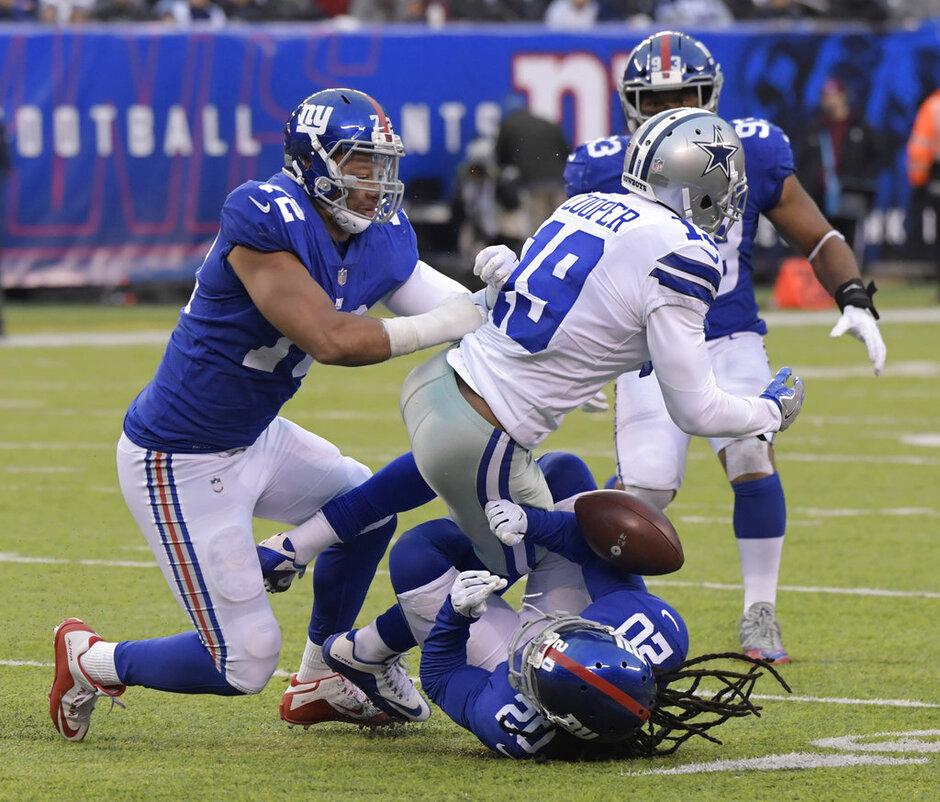 Cowboys Giants Football