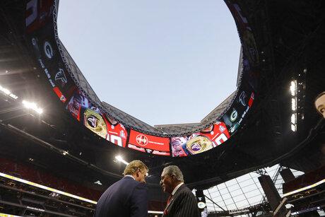 Atlanta Stadium Roof