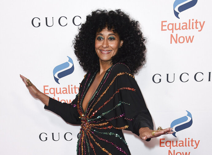 FILE - This Dec. 3, 2018 file photo shows Tracee Ellis Ross at the 2018 Equality Now's