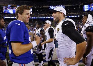Eli Manning, Blake Bortles