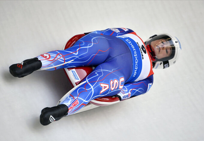 New orders: USA Luge's Emily Sweeney returning to World Cup