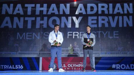 Nathan Adrian, Anthony Ervin