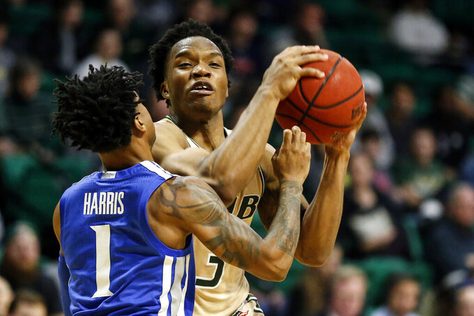 Achiuwa, No. 15 Memphis surge back to beat UAB 65-57