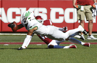 North Texas Arkansas Football