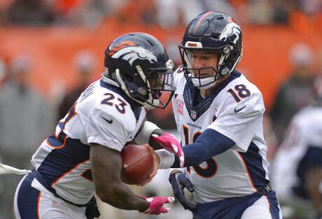 Peyton Manning, Ronnie Hillman