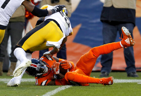 Steelers Broncos Football