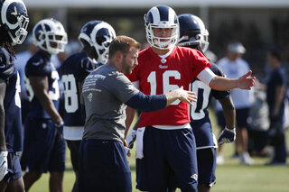 Sean McVay, Jared Goff